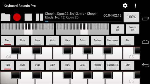 Keyboard Sounds Pro - Midi USB