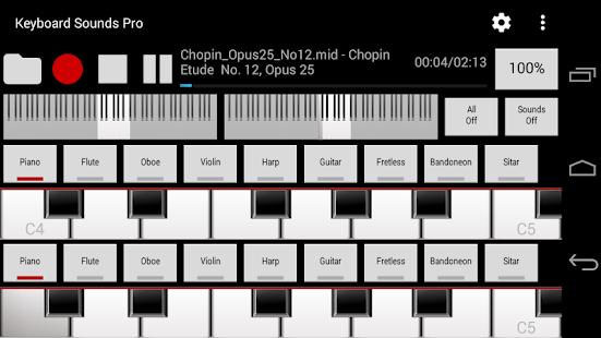 Keyboard sounds windows