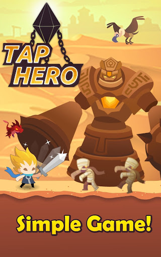 Tap Hero: War of Titan Clicker  screenshots 1