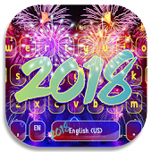 New Year 2018 Keyboard Theme Android APK Download Free By HD Theme Creator
