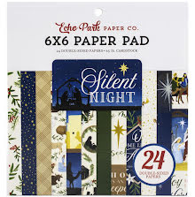 Echo Park Double-Sided Paper Pad 6X6 - Silent Night