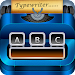 Typewriter keyboard-American classical theme Icon