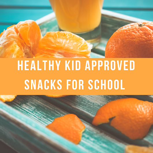 Healthy Kid Approved Snacks For School