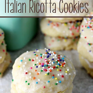 Italian Ricotta Cookies.