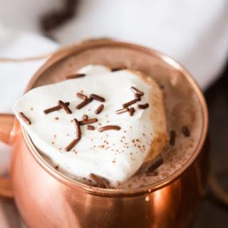 Dreamy Homemade Hot Chocolate.