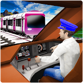 Real Metro Train Simulator Driving Games