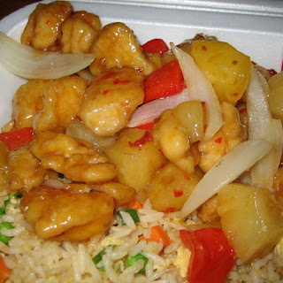 Panda Express SweetFire Chicken Breast.