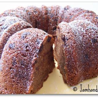 Chocolate Chip Pound Cake.