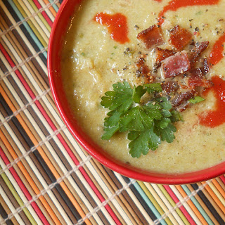 Cauliflower Leek Bacon Soup Recipes