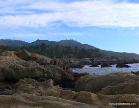 Photo: The rocky shores of Pt. Lobos, Monterey County.