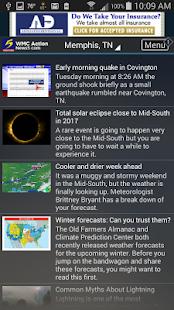Action News 5 Memphis Weather- screenshot thumbnail