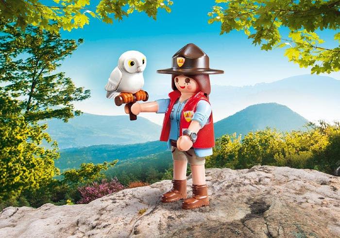 Contenido real de Playmobil® 9337 Guardia Forestal