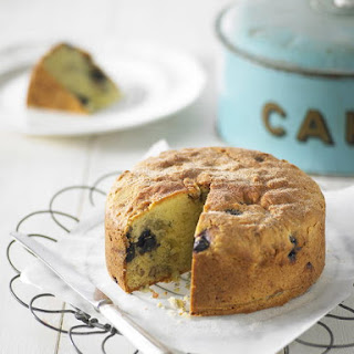 Blueberry and Walnut Teacake