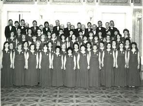 Photo: 1986 Kórusfotó a 75. éves jubileumi füzethez