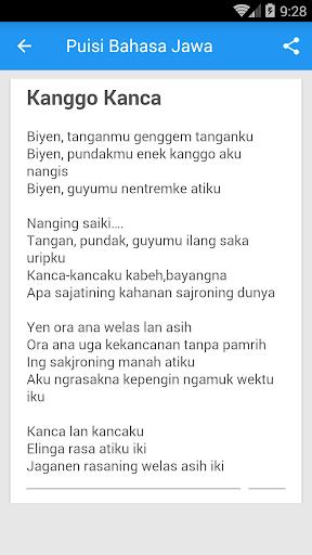 Geguritan Bahasa Jawa Singkat : geguritan, bahasa, singkat, ✓[2021], Puisi, Bahasa, Android, Download, [Latest]