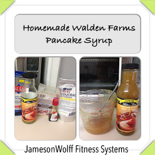 Homemade Walden Farms Pancake Syrup