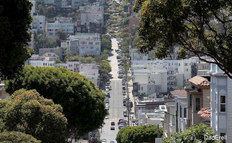 Lombard Street, San-Francisco