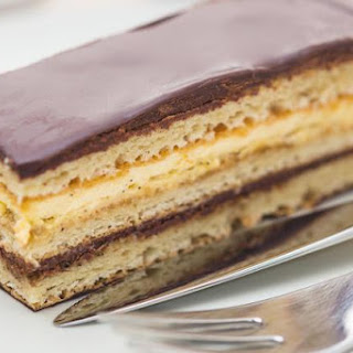 Impress Your Guests with a Towering Opera Cake