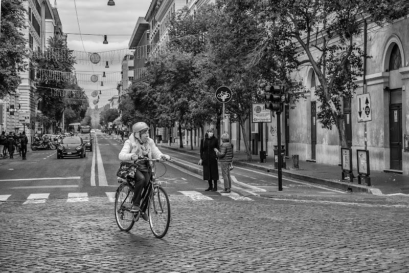 La ciclista di si