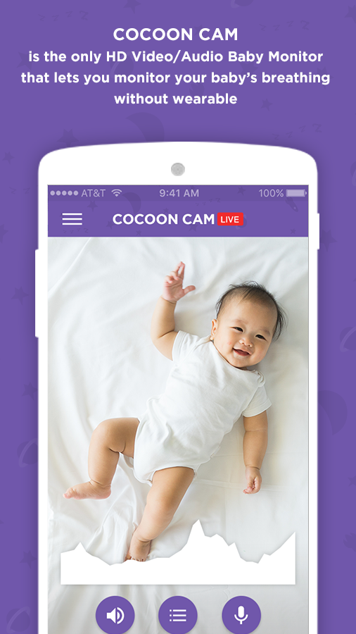 Cocoon Cam: Smart Baby Monitor- screenshot