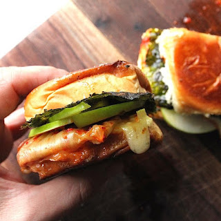 Kimchi Grilled Cheese.