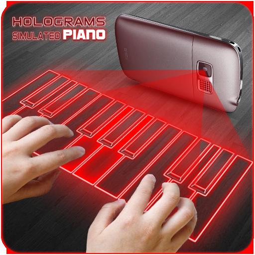 棋类游戏のホログラムピアノ 3D Simulated LOGO-記事Game