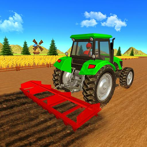 Real Tractor Farmer games 2019 : Farming Games New
