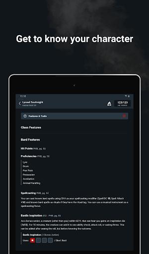 D&D Beyond Player Tools screenshot 23