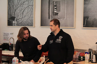 Photo: Yves our location sponsor and Michael from our sponsor agentex - great guys you can count on