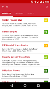 GYMPP - Gym & Fitness Finder- screenshot thumbnail