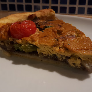The Vegan Quiche.