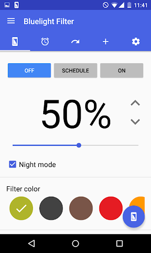 Bluelight Filter for Eye Care  screenshots 1