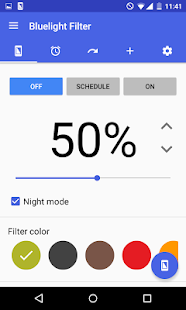 Bluelight Filter for Eye Care Screenshot