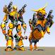 ブルロボットカー変換ゲーム:Robot Shooting