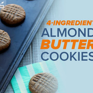 Simple Paleo Almond Butter Cookies Recipe