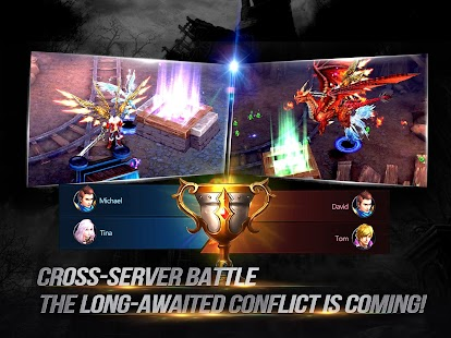 Goddess: Primal Chaos - en Free 3D Action MMORPG Screenshot