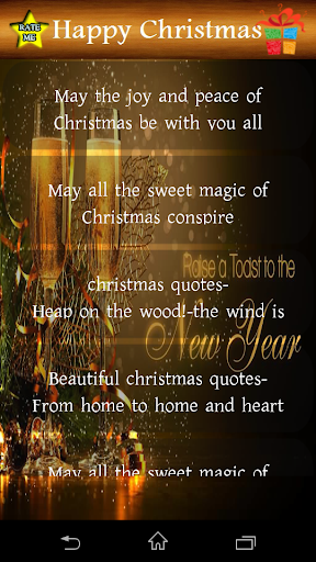 Christmas Wish Messages 1.0 screenshots 2