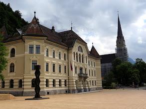Photo: Vaduz - Städtle, old building of Parliament