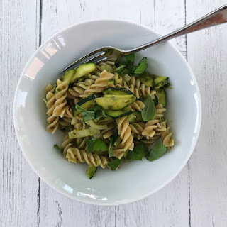 Pasta with Garlicky Greens Recipe