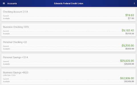 Edwards Federal Credit Union screenshot 5