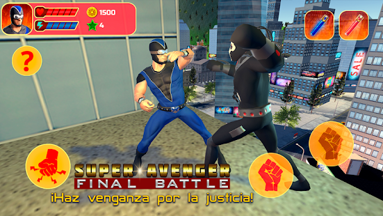 Super Avenger: Batalla Final Screenshot