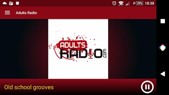 Adults Radio screenshot