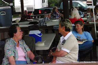 Photo: Mary Lou Schoenberg, Monterey White, and Marge Leventon.  HALS-SLWS 2009-0523