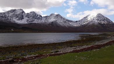 Photo: Isle of Skye - vers les montagnes Cuillings