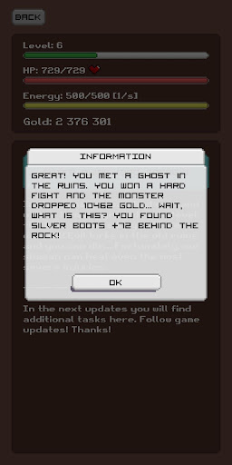 Simplest RPG Game - Text Adventure modavailable screenshots 15