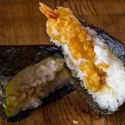 Shrimp Tempura Rice Ball