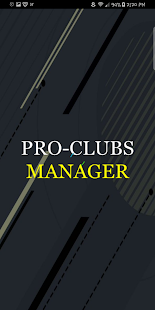 Pro-Clubs Manager - náhled