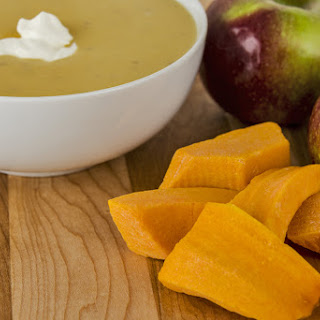 Sweet & Creamy Apple & Butternut Squash Soup In The Soup Maker