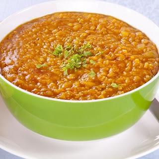 Orange Lentils Soup