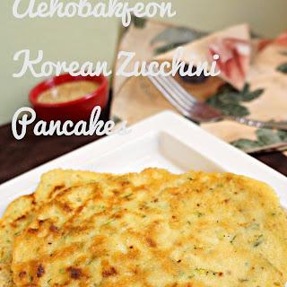 (Korean Zucchini Pancakes)